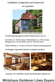 Gasthaus im Frankenwald