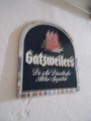 Gatz Bier Schild