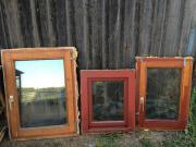 gebrauchte Holzfenster