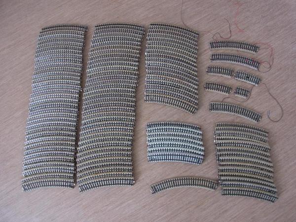 gebrauchte m rklin ho gleise metallgleise h0 in m nchen. Black Bedroom Furniture Sets. Home Design Ideas