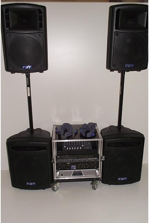 geniale transportabel musikanlage f r liveband oder dj in. Black Bedroom Furniture Sets. Home Design Ideas