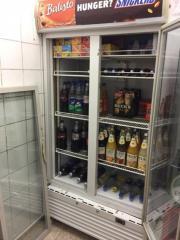 Getränke Kühlschrank voll