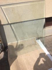 Glas Ofenbodenplatten zu