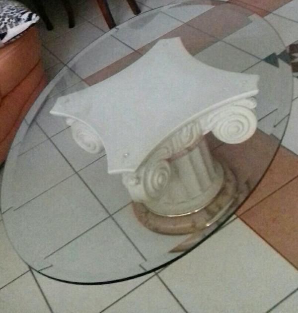 Glastisch oval neu und gebraucht kaufen bei for Ovaler glastisch