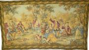 Gobelin antik Jagdbildteppich (