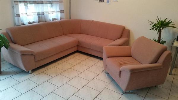 gro e polsterecke mit sessel in riedstadt polster sessel couch kaufen und verkaufen ber. Black Bedroom Furniture Sets. Home Design Ideas