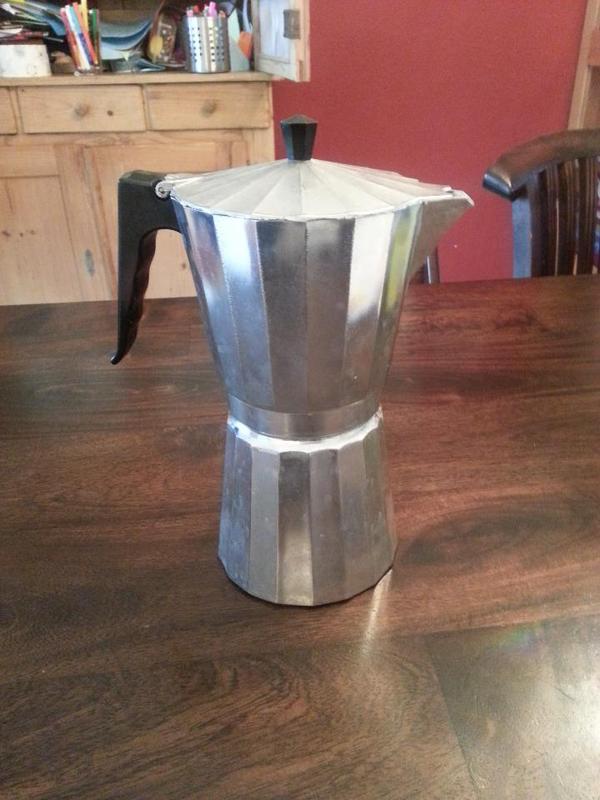 grosser espressokocher f r ca 10 tassen in ketsch kaffee espressomaschinen kaufen und. Black Bedroom Furniture Sets. Home Design Ideas