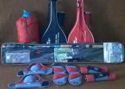 Grundangelset, Hantelset, Badmintonschläger