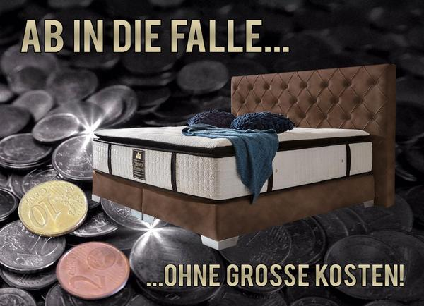 g nstige luxus boxspringbetten ab werk crown betten in frankfurt betten kaufen und verkaufen. Black Bedroom Furniture Sets. Home Design Ideas