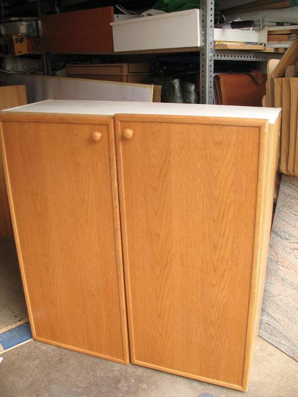 Ikea Galant Right Corner Desk ~ Aufsatzschrank Holz Kunststoffdekor hell