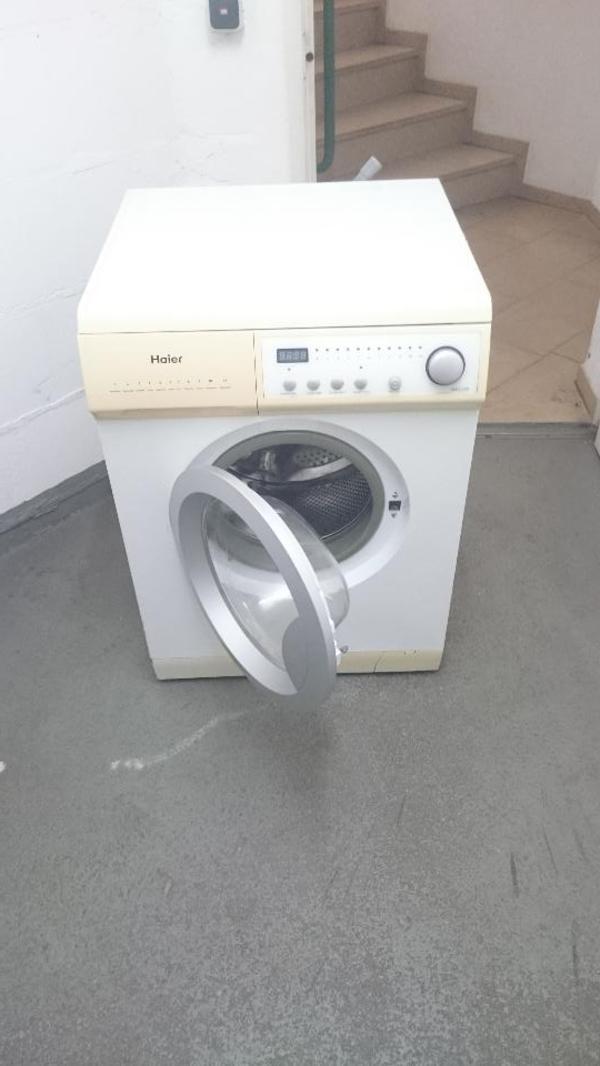 haier waschmaschine in frankfurt waschmaschinen kaufen und verkaufen ber private kleinanzeigen. Black Bedroom Furniture Sets. Home Design Ideas