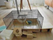 Hamsterkäfig und Zubehör