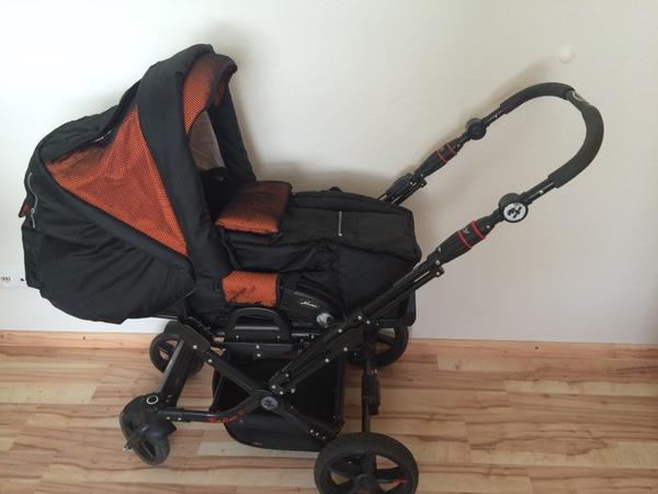 hartan topline s schwarz orange in sindelfingen. Black Bedroom Furniture Sets. Home Design Ideas