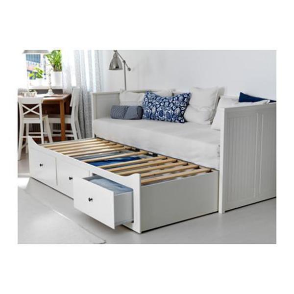 hemnes tagesbettgestell 3 betten. Black Bedroom Furniture Sets. Home Design Ideas