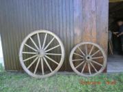 Historische Wagenräder