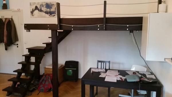 hochbett in m nchen betten kaufen und verkaufen ber private kleinanzeigen. Black Bedroom Furniture Sets. Home Design Ideas