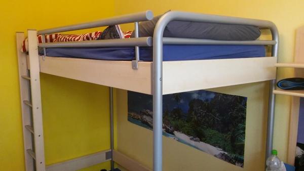 hochbett 39 hasena 39 maxi 90x200 in ostfildern kinder jugendzimmer kaufen und verkaufen ber. Black Bedroom Furniture Sets. Home Design Ideas