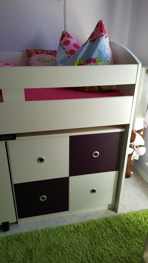 ikea hochbett mit schreibtisch und regal. Black Bedroom Furniture Sets. Home Design Ideas