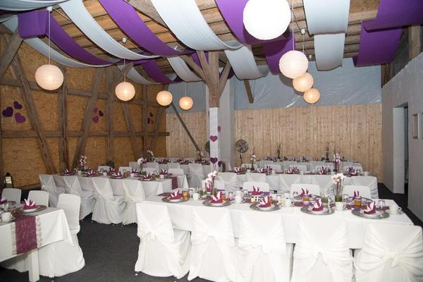 hochzeitsdeko ab 1eur taufe hochzeit deko lila wei rosa in walld rn alles f r die hochzeit. Black Bedroom Furniture Sets. Home Design Ideas