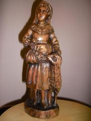 Holz Figur Frau