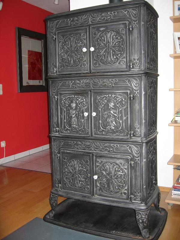 holzofen gusseisen gebraucht. Black Bedroom Furniture Sets. Home Design Ideas
