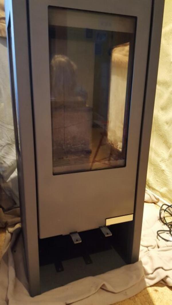 holzofen von drooff 7kw 3 scheiben inkl bodenplatte aus glas in forst fen heizung. Black Bedroom Furniture Sets. Home Design Ideas