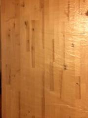 Holzplatte Birke massiv,