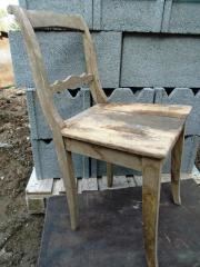 Holzstühle Biedermeier, Dekostühle