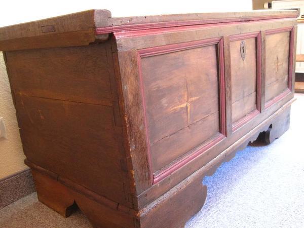 alt holztruhe neu und gebraucht kaufen bei. Black Bedroom Furniture Sets. Home Design Ideas