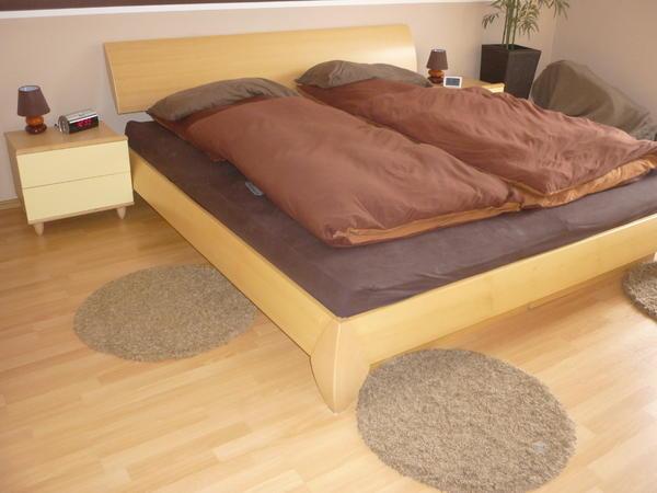 h lsta doppelbett inkl nachttischkonsolen in mannheim betten kaufen und verkaufen ber. Black Bedroom Furniture Sets. Home Design Ideas