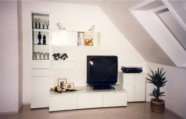 h lsta movado wohnwand oder mit wohnzimmer tisch in. Black Bedroom Furniture Sets. Home Design Ideas
