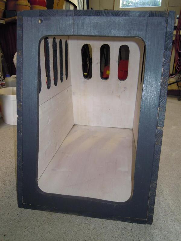 hundebox f r auto selbstbau in biebergem nd zubeh r f r. Black Bedroom Furniture Sets. Home Design Ideas