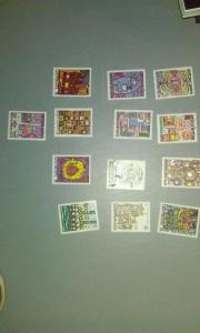 Hundertwasser Briefmarken