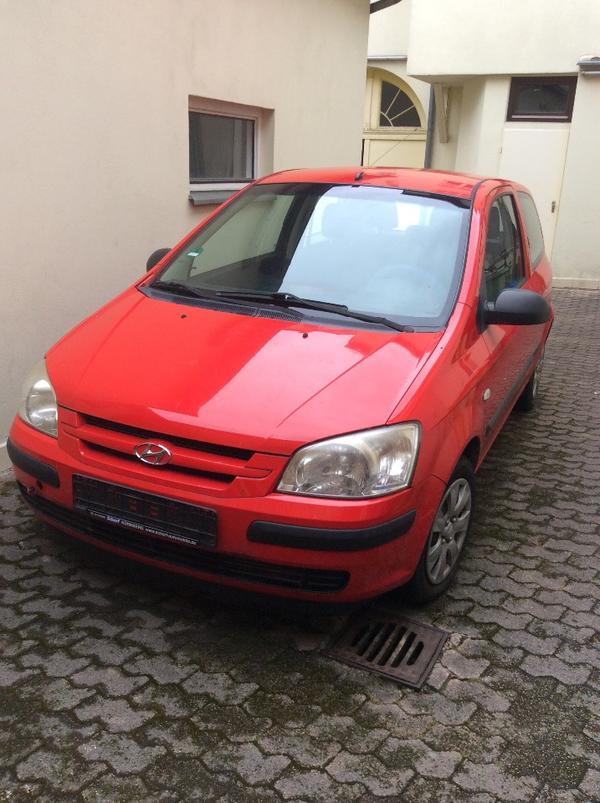 Rot Kreuz Zelt Gebraucht Kaufen : Hyundai getz limousine benzin kw km ez