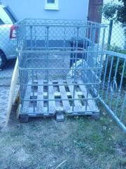 IBC Gitterbox auf