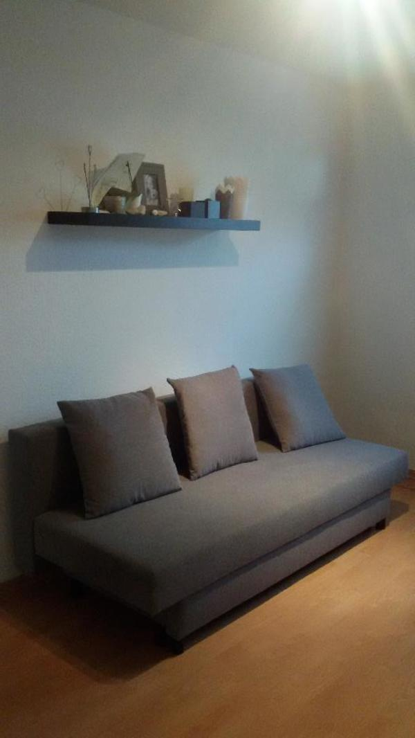 IKEA 3er Bettsofa ASARUM grau in Worms - Polster, Sessel, Couch ...