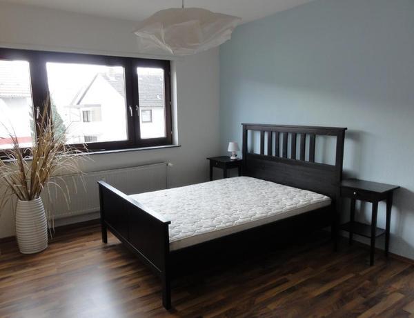 ikea bett hemnes 140x200 inkl latex matratze und. Black Bedroom Furniture Sets. Home Design Ideas