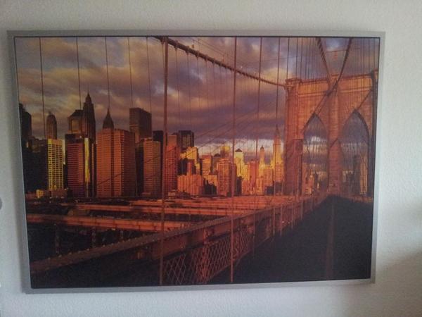 Ikea bild brooklyn bridge in heidelberg dekoartikel for Ikea dekoartikel