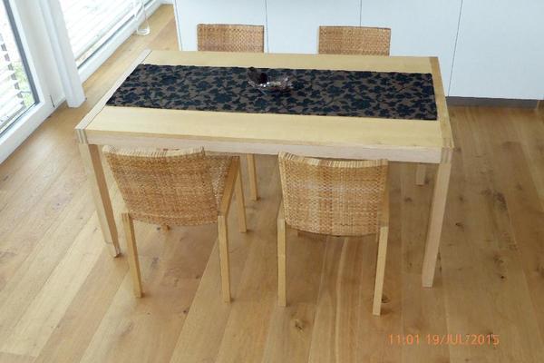 ahorn esstisch neu und gebraucht kaufen bei. Black Bedroom Furniture Sets. Home Design Ideas