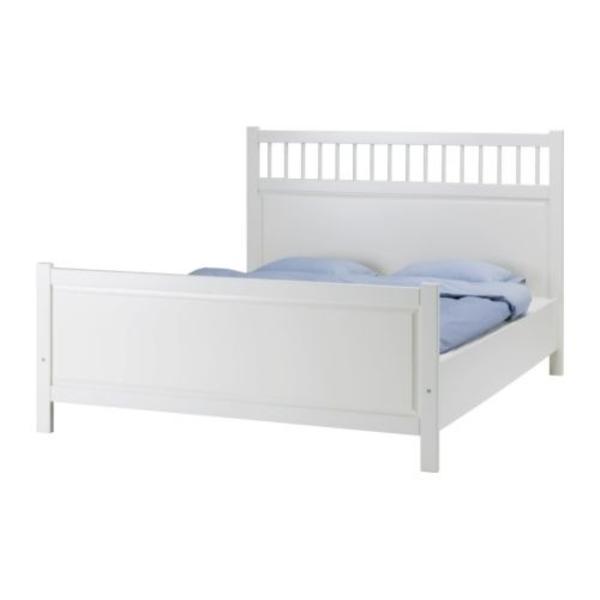IKEA HEMNES Bett weiß, gebraucht in Bielefeld - Schränke, Sonstige ...