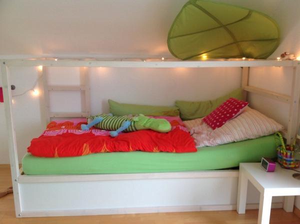 Ikea Drehstuhl Skruvsta Weiß ~ Das Bett haben wir weiß lasiert Man kann es als Hochbett oder als