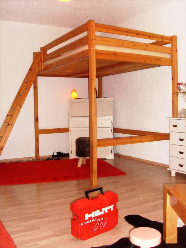 ikea hochbett stora kiefer natur holz in karlsruhe betten kaufen und verkaufen ber private. Black Bedroom Furniture Sets. Home Design Ideas