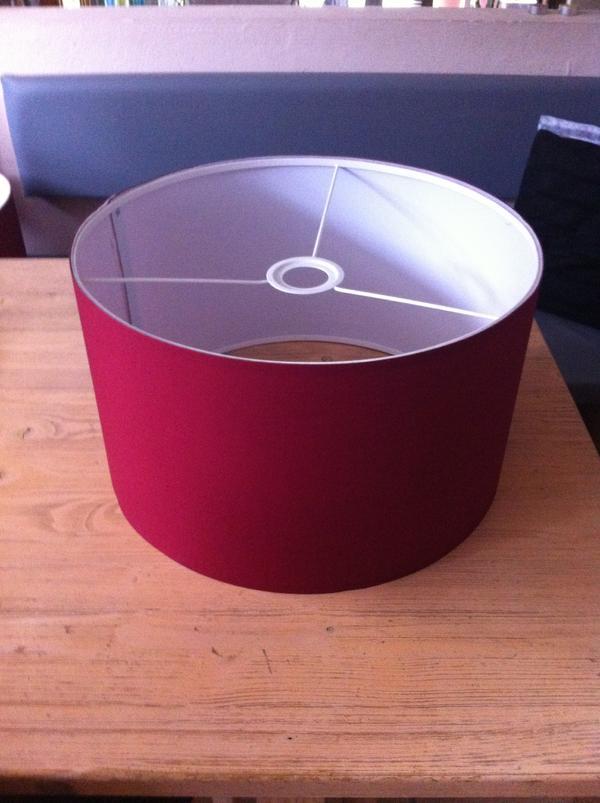 ikea lampenschirme rot in einhausen kaufen und verkaufen. Black Bedroom Furniture Sets. Home Design Ideas