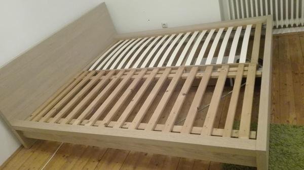ikea malm bett eiche. Black Bedroom Furniture Sets. Home Design Ideas