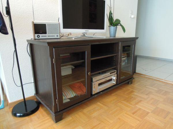 ikea mark r tv schrank landhausstil in heidelberg. Black Bedroom Furniture Sets. Home Design Ideas
