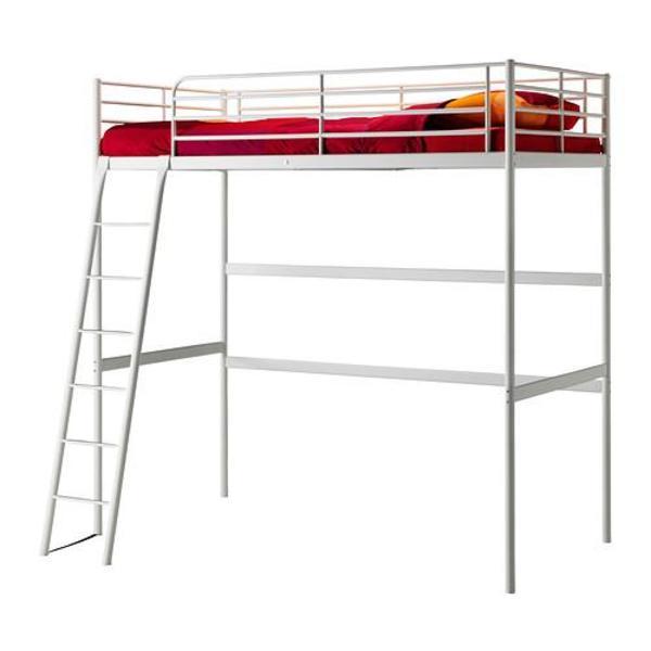 ikea metallhochbett 90 betten. Black Bedroom Furniture Sets. Home Design Ideas