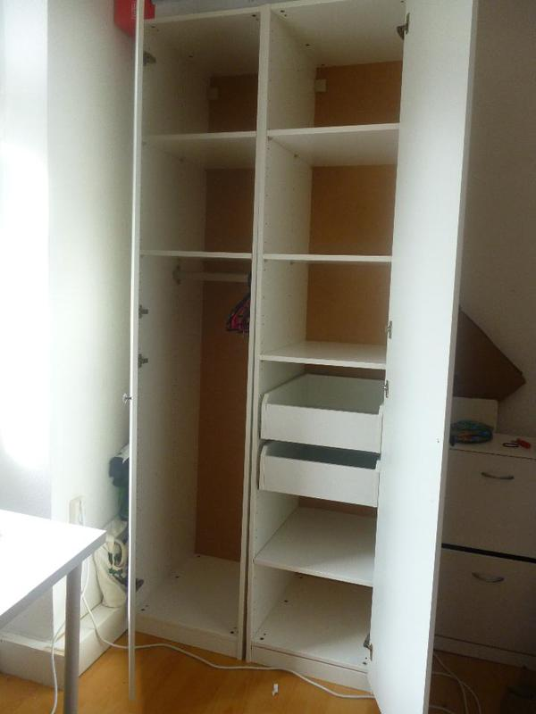 Ikea pax schrank wei mannheimer quadrate schr nke for Schrank quoka