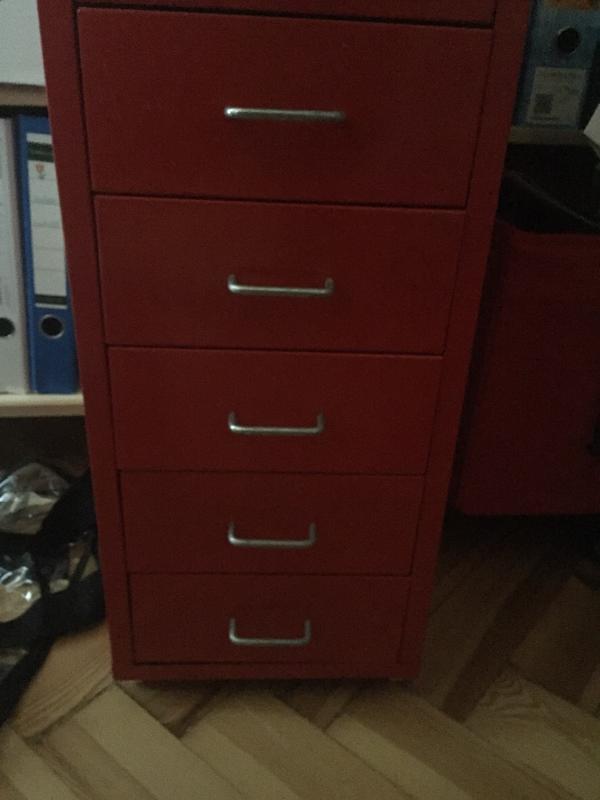 Ikea Deckseite Unterschrank ~ ikea schreibtisch rollcontainer rot 90409 nürnberg roter ikea