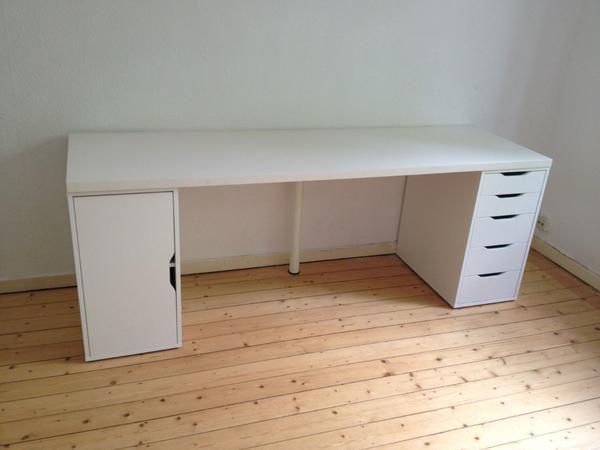 Ikea Kallax High Gloss White ~ ikea schreibtisch zu verkaufen hallo ich verkaufe meinen ikea