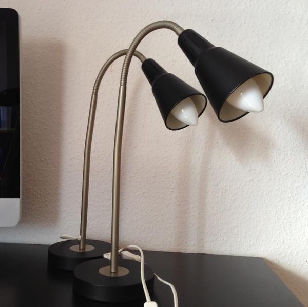ikea schreibtischlampe 2x lampen f r dein tisch in n rnberg ikea m bel kaufen und. Black Bedroom Furniture Sets. Home Design Ideas